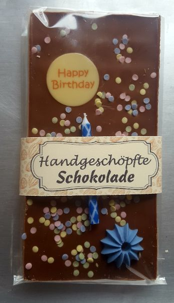 Happy Birthday Schokolade 100g